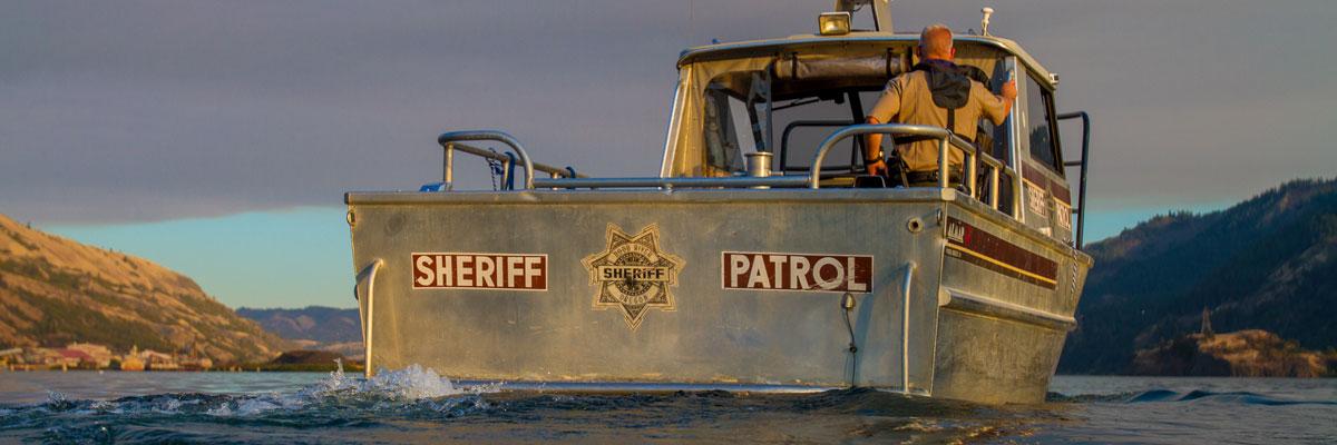 Marine Patrol & Enforcement | Hood River County Sheriff