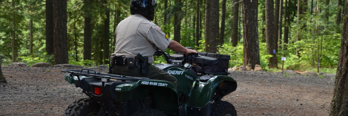 Off Highway Vehicle | Hood River County Sheriff